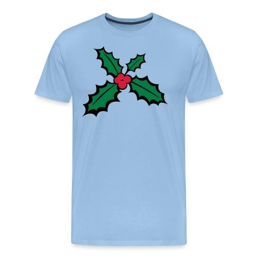 houx de noel - T-shirt Premium Homme
