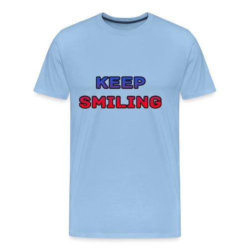 NEW keep smiling Mrspidey - Men's Premium T-Shirt