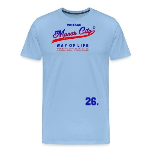Manas City - T-shirt Premium Homme