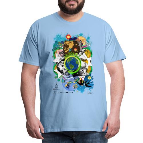 Mother Earth - black (us) -by T-shirt chic et choc - T-shirt Premium Homme