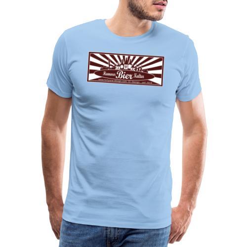 Hannover Bier Kultur - Männer Premium T-Shirt