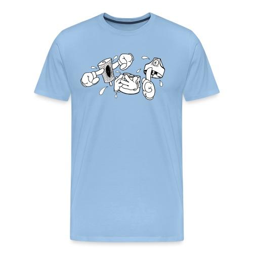 Fat Cap Expressions - Herre premium T-shirt