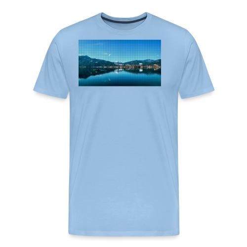 Pixel Tegernsee - Männer Premium T-Shirt