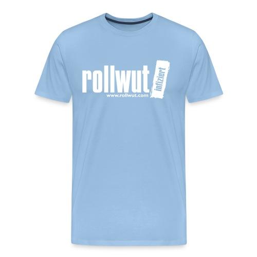 Rollwut Logo - Männer Premium T-Shirt