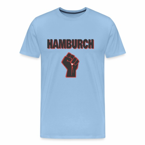 Hamburch. Meine Stadt. - Männer Premium T-Shirt