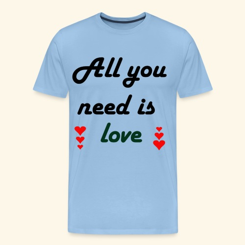 collection all love - T-shirt Premium Homme