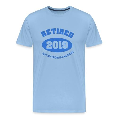 Retired 2019 Rente T Shirt - Männer Premium T-Shirt