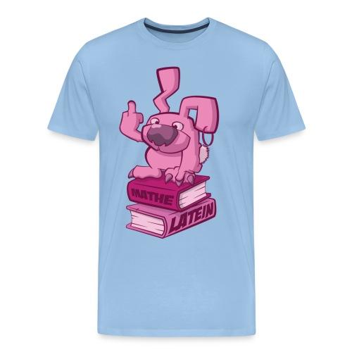 Schulhasshase - Männer Premium T-Shirt