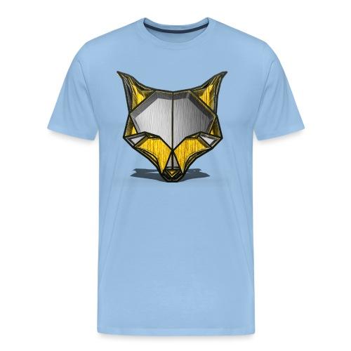 WolfofinstaohneSchrift png - Männer Premium T-Shirt