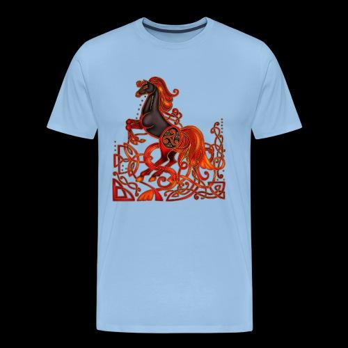 Celtic Horse Night Mare - Men's Premium T-Shirt