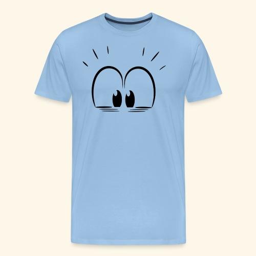 Überraschung Blick - Männer Premium T-Shirt