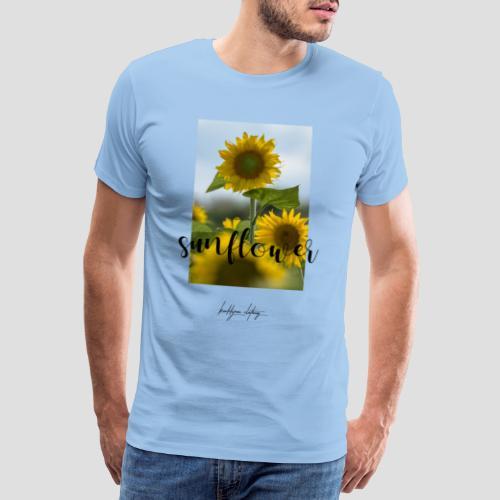 Sunflower - Männer Premium T-Shirt