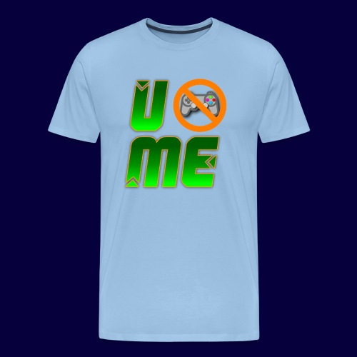 Ucant1-orange - Männer Premium T-Shirt