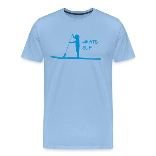What's SUP - Männer Premium T-Shirt
