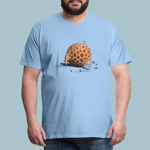 Rollin' Wild - Giraffe drinking - Men's Premium T-Shirt