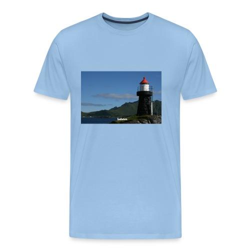 Lykta G 8239b png - Premium T-skjorte for menn