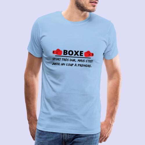 BOXE - T-shirt Premium Homme