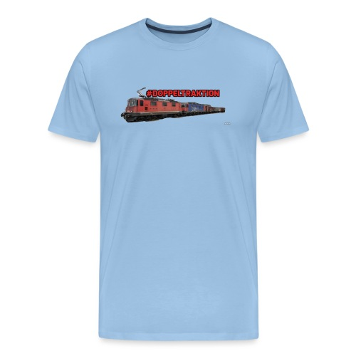 #Doppeltraktion Merchandise! - Männer Premium T-Shirt