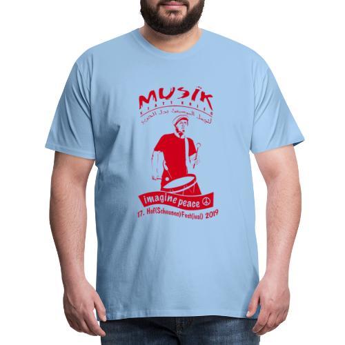 EISBRENNER - Hof(Scheunen) Fest(ival) Merch 2019/r - Männer Premium T-Shirt
