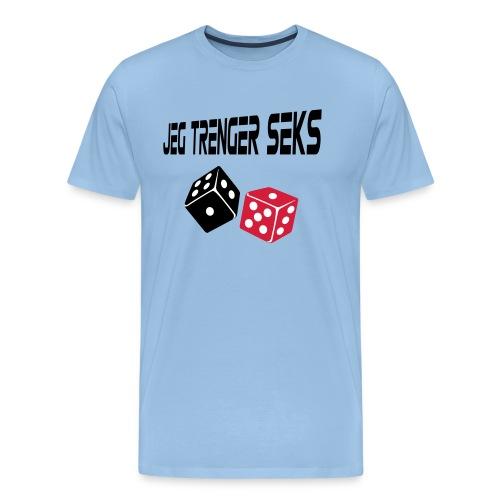 Jeg trenger seks - Men's Premium T-Shirt
