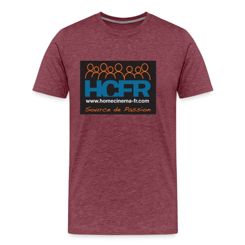 logo hcfr noir 400 - T-shirt Premium Homme