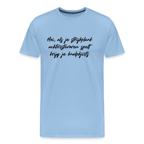 Knalpkjirts - Mannen Premium T-shirt