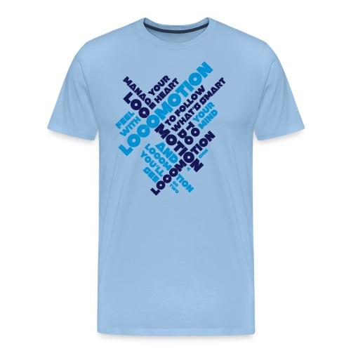 Locomotion - Herre premium T-shirt