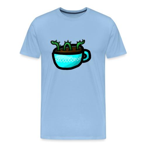 Loch Ness im Kaffee - Männer Premium T-Shirt