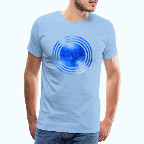 Orion night watercolor - Men's Premium T-Shirt