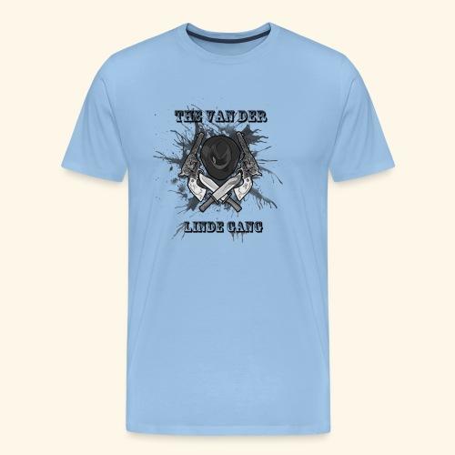 Western linde gang - T-shirt Premium Homme