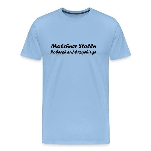 molchnerschrift - Männer Premium T-Shirt