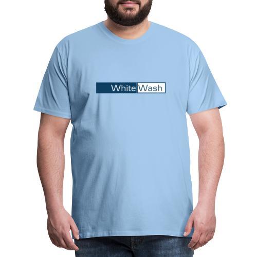 White Wash - Herre premium T-shirt