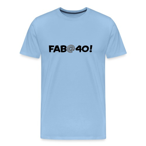 FAB AT 40! - Men's Premium T-Shirt