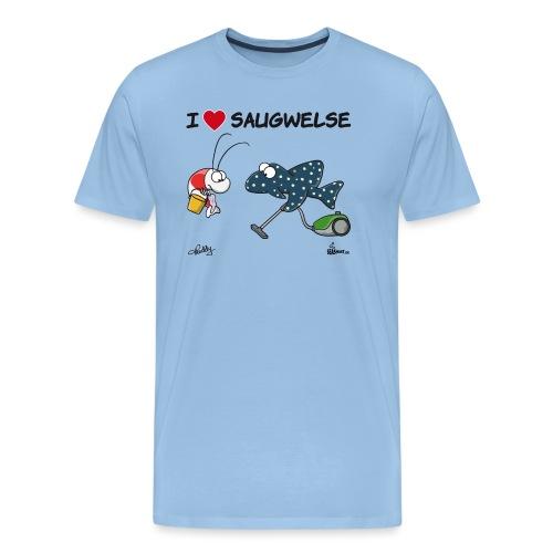 Saugwels - Männer Premium T-Shirt