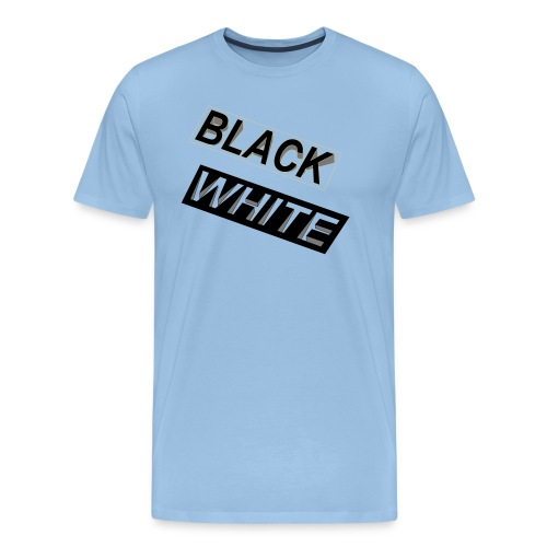 Black-and-White_Reverse - Männer Premium T-Shirt