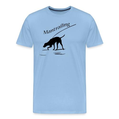 Mantrailing - Männer Premium T-Shirt