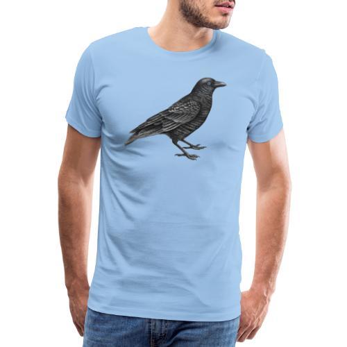 kraai vogel - Mannen Premium T-shirt