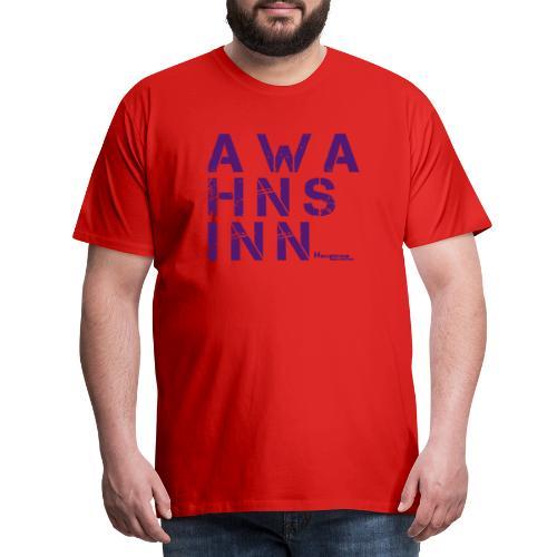 HazyShirt05awahnsinn - Männer Premium T-Shirt