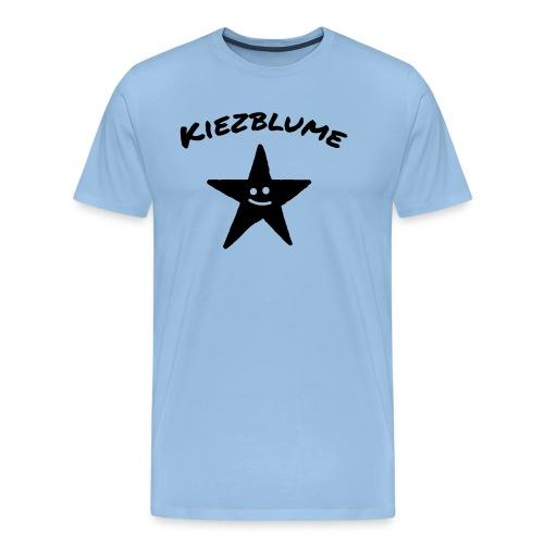 Kiezblume Stern - Männer Premium T-Shirt
