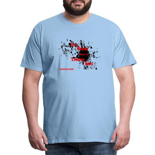 TARMAC ENDS - Premium-T-shirt herr