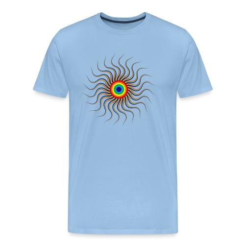 Abstract sun tote bag - Men's Premium T-Shirt