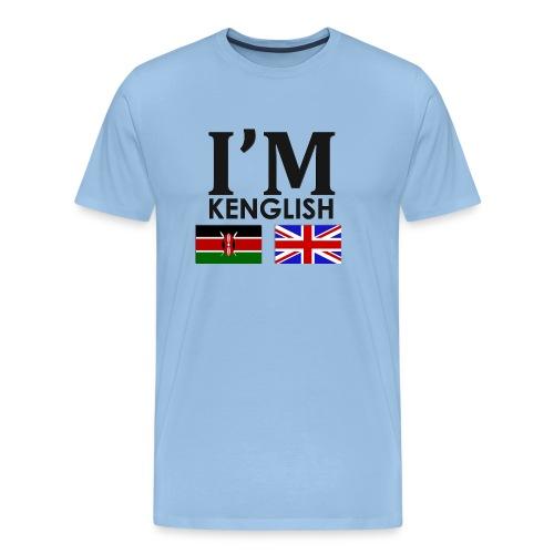 Kenyan + English = - Men's Premium T-Shirt