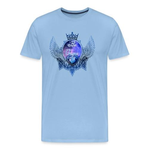 Beautiful-Lace.png - Männer Premium T-Shirt