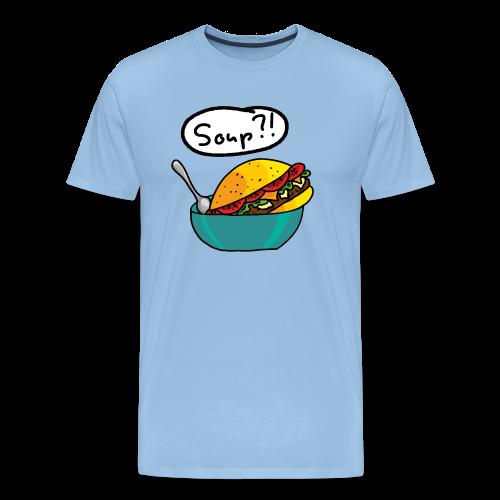 Burger Suppe - Männer Premium T-Shirt
