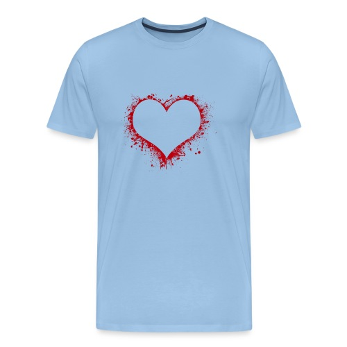 Herz/Heart - Männer Premium T-Shirt