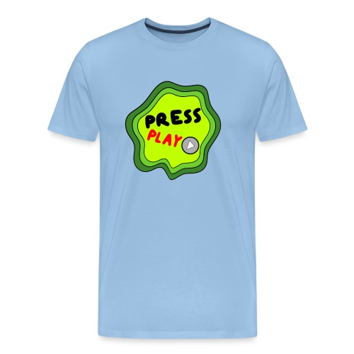 Press Play slime - Men's Premium T-Shirt