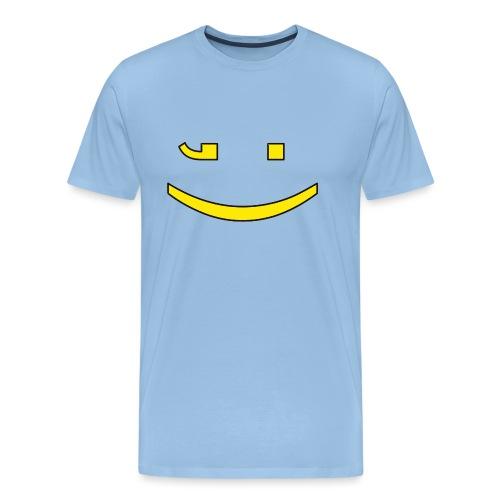 Zwinker - Männer Premium T-Shirt