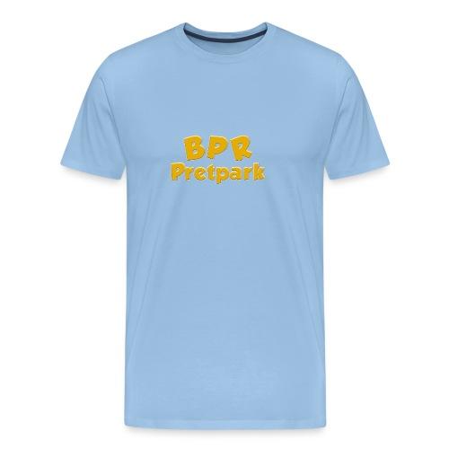 BPR Pretpark logo - Mannen Premium T-shirt