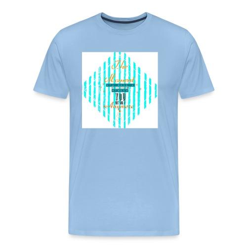 'A Moment' Schriftzug - Männer Premium T-Shirt