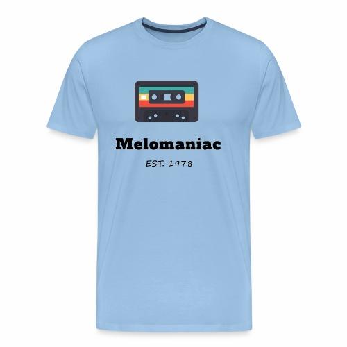 Melomaniac Vintage - Männer Premium T-Shirt